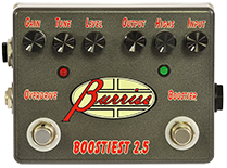 Boostiest Effects Pedal